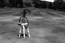 Cycling Molten Gumball Machine on the greens